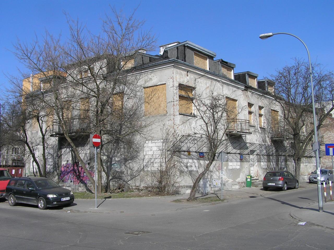 Kamienica przy ulicy Krypskiej 31 na Grochowie
