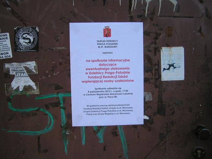 Fundacja Redukcji Szkód na Grenadierów 34?