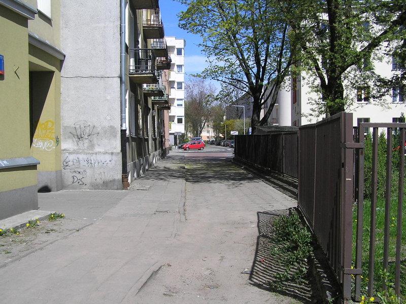 Ulica Rębkowska
