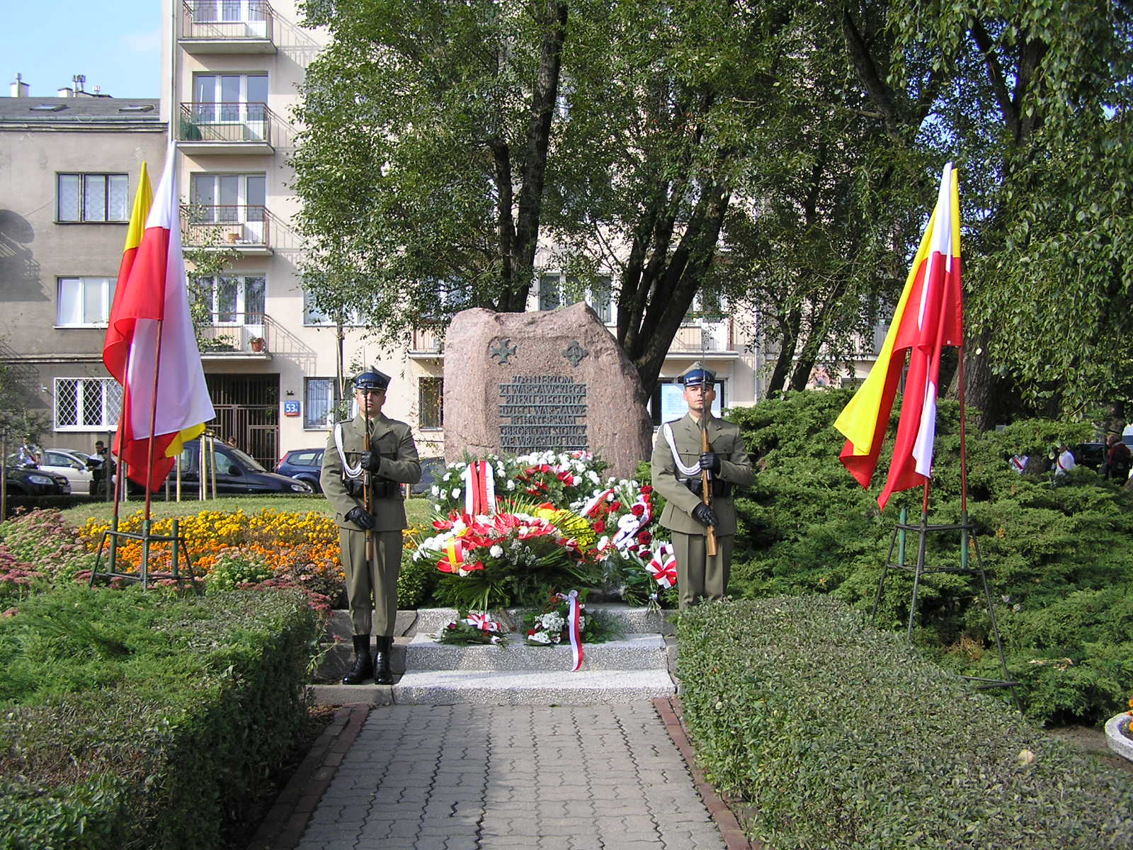 Uroczystości z okazji 76 rocznicy obrony Grochowa