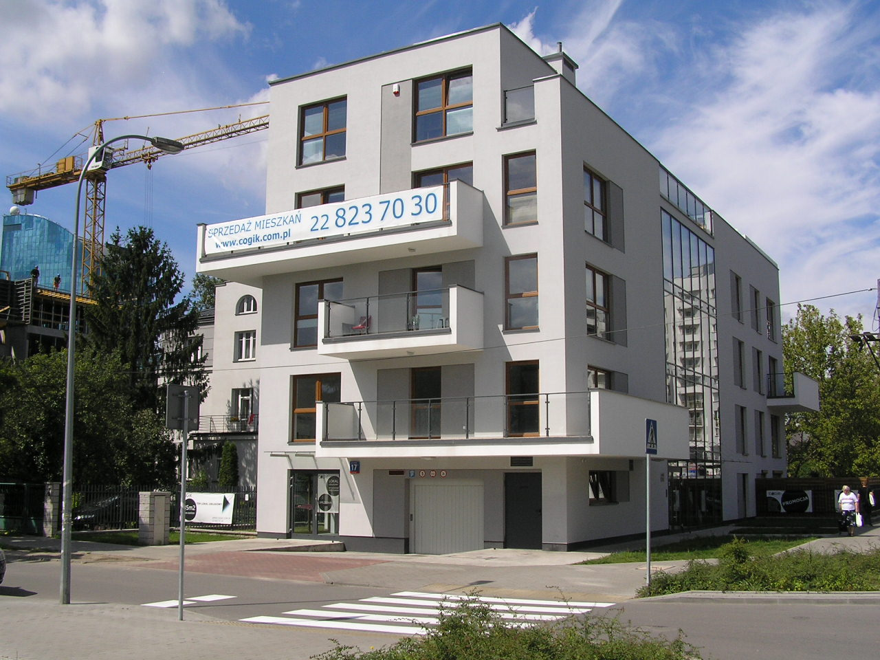 Budynek przy ulicy Krypskiej 17 na Grochowie