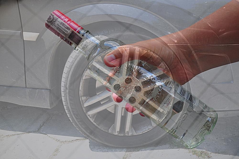 Pijany kierowca chciał wręczyć łapówkę