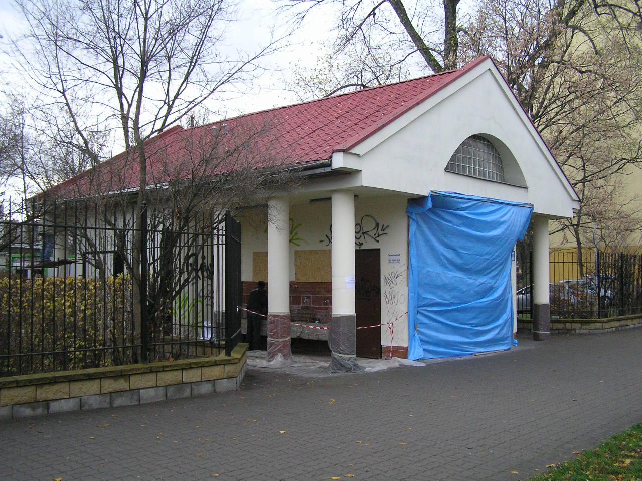 Źródełko przy Szpitalu Grochowskim w remoncie