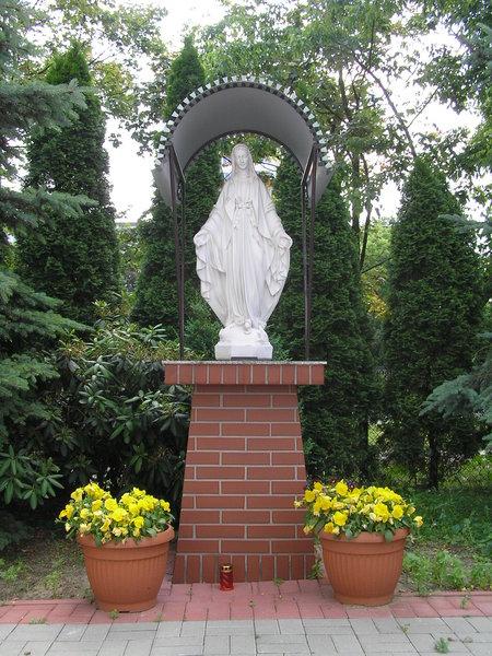 Figura Matki Boskiej - Aleja Stanów Zjednoczonych 55