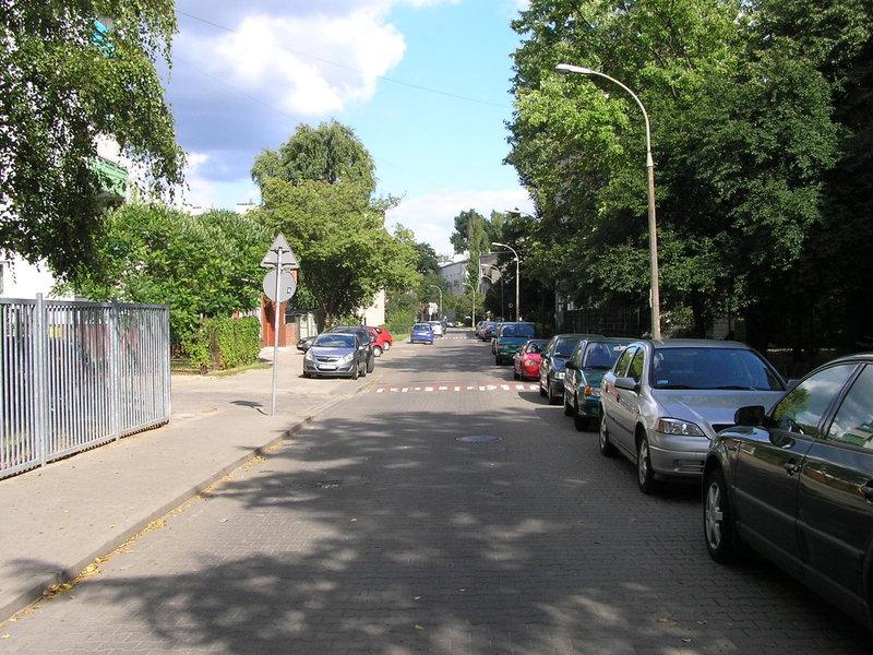Ulica Zbaraska na Grochowie