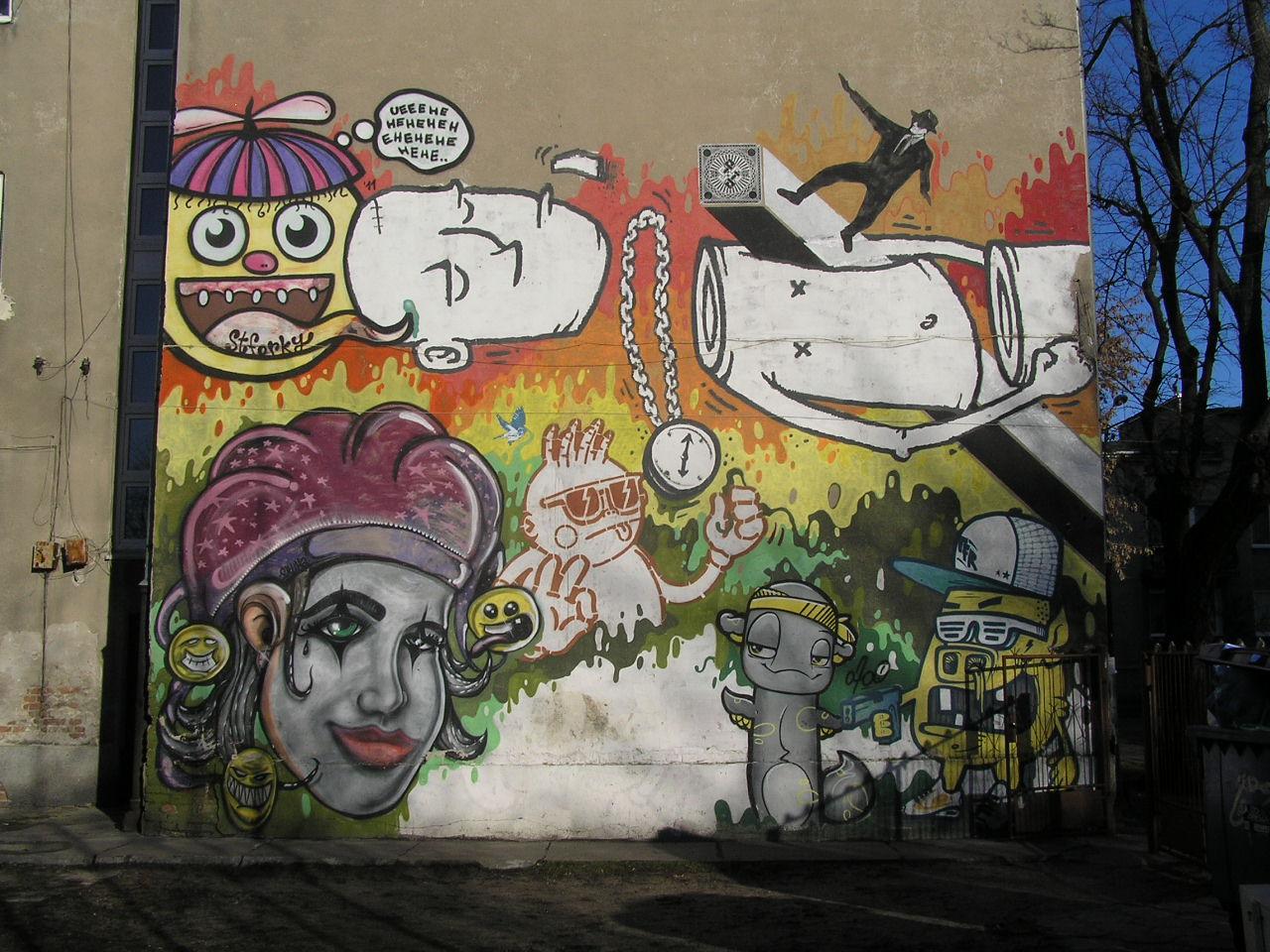 Mural - Osowska 49