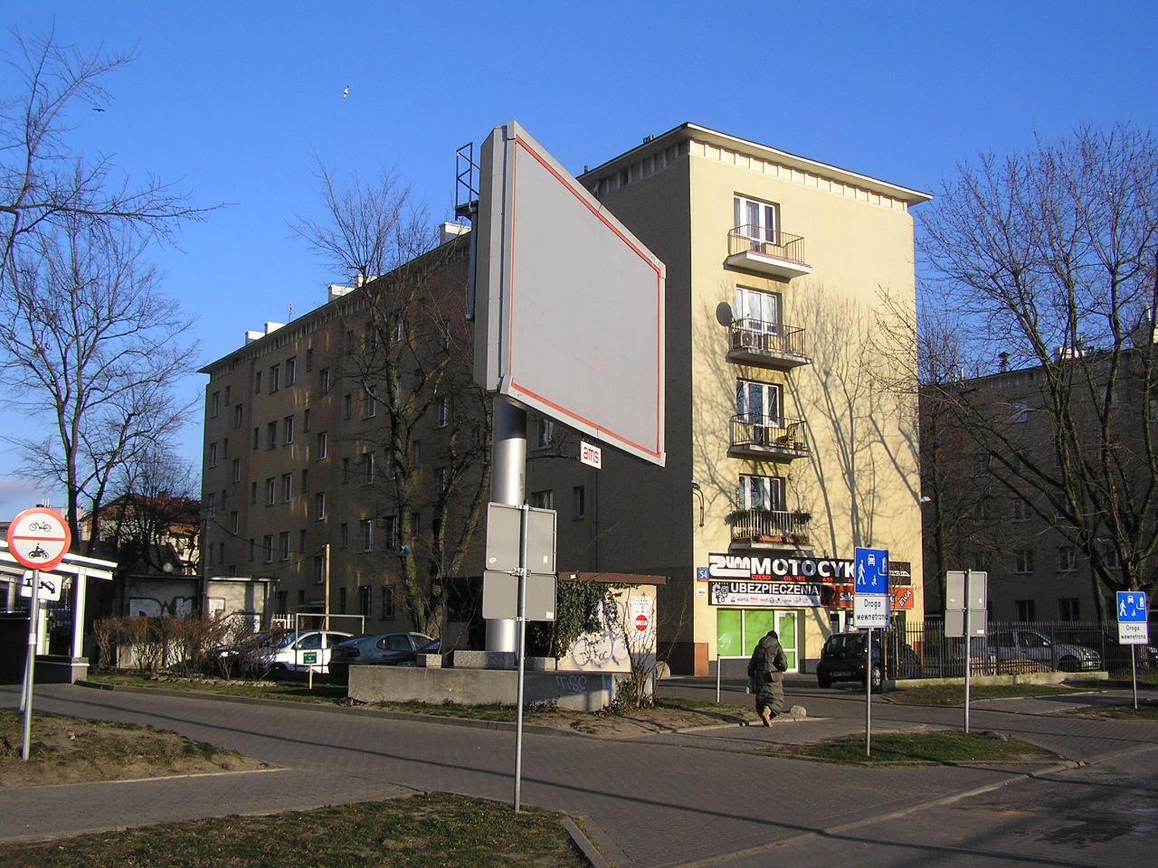 Budynek przy ulicy Grochowskiej 54 na Grochowie