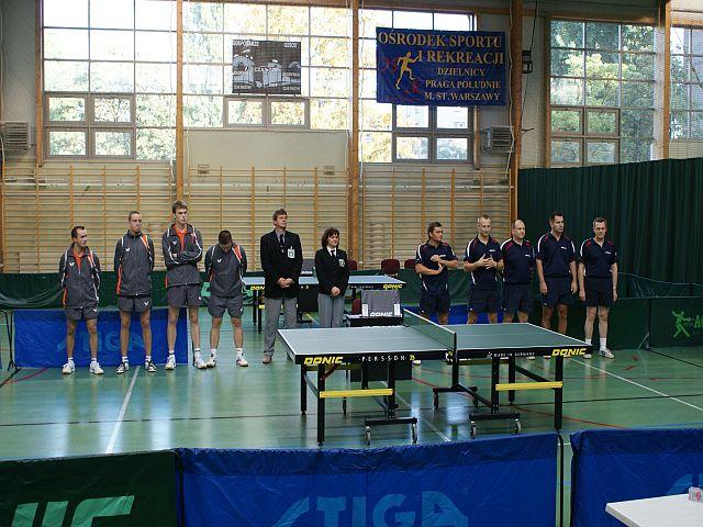 I Liga tenisa stołowego na Grochowie