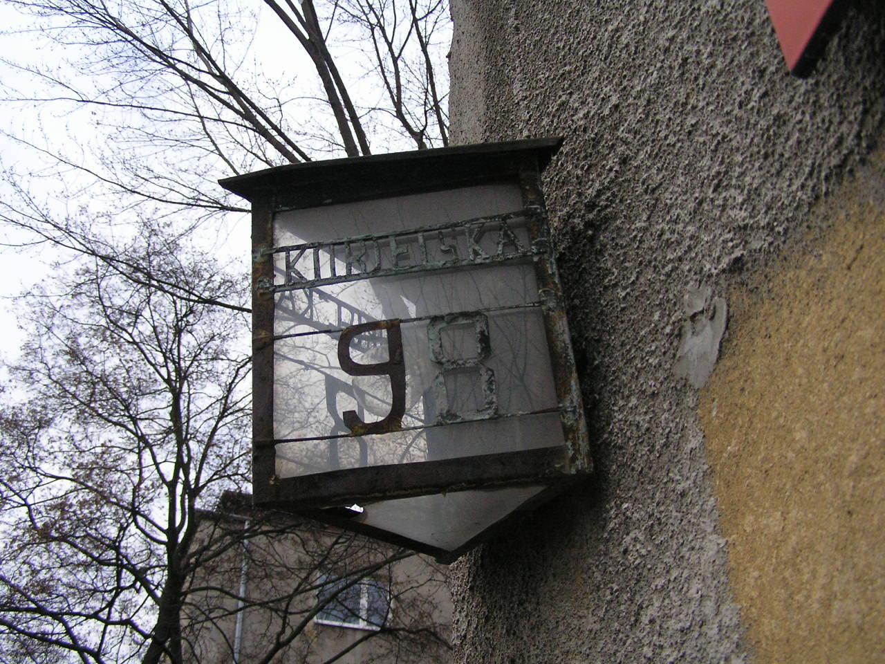 Latarenka adresowa - Kobielska 98