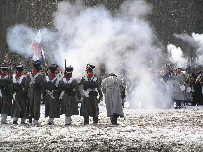Inscenizacja Bitwy Grochowskiej w 2014 roku