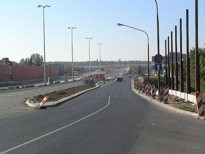 Estakady Trasy Siekierkowskiej ukończone