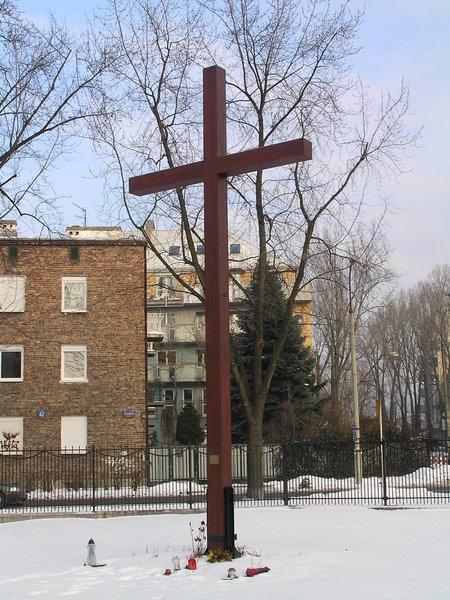 Krzyż upamiętniający Misje parafialne oraz ofiary Katynia i katastrofy smoleńskiej