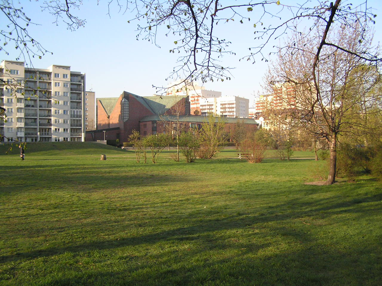 Modernizacja parku Polińskiego z poślizgiem
