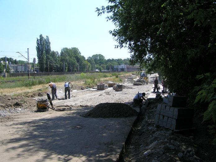 Trwa przebudowa fragmentu ulicy Makowskiej