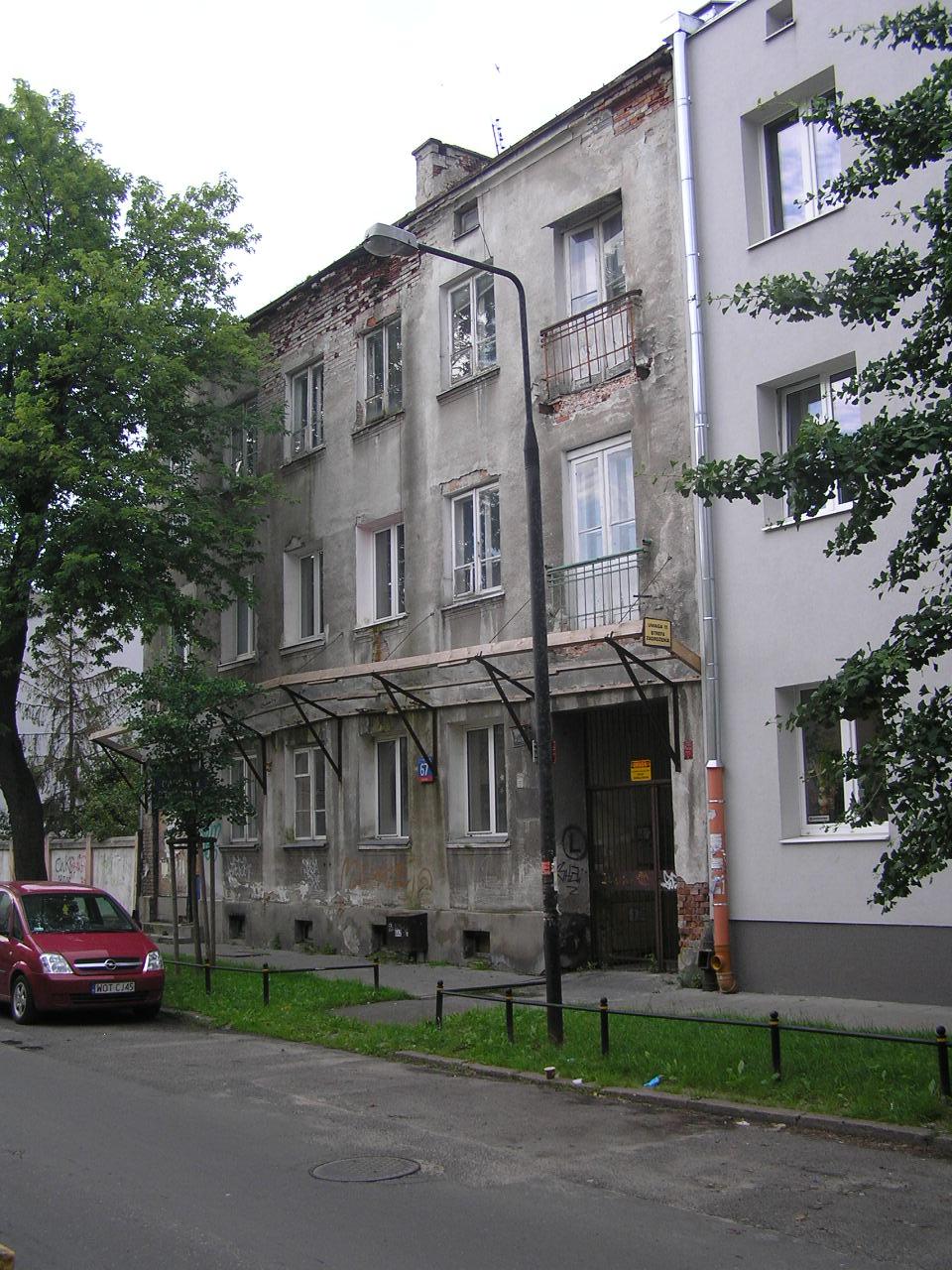 Kamienicy przy ulicy Kordeckiego 67 na Grochowie