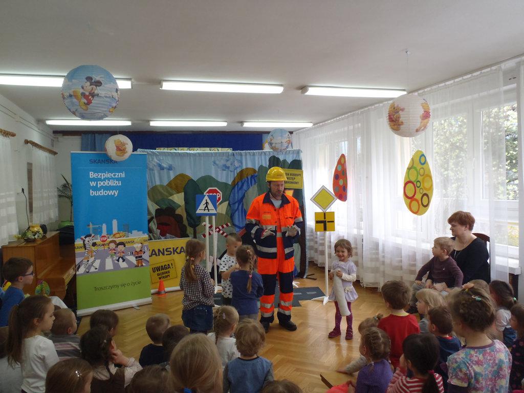 Tomcio Brygadzista w przedszkolu na Grochowie
