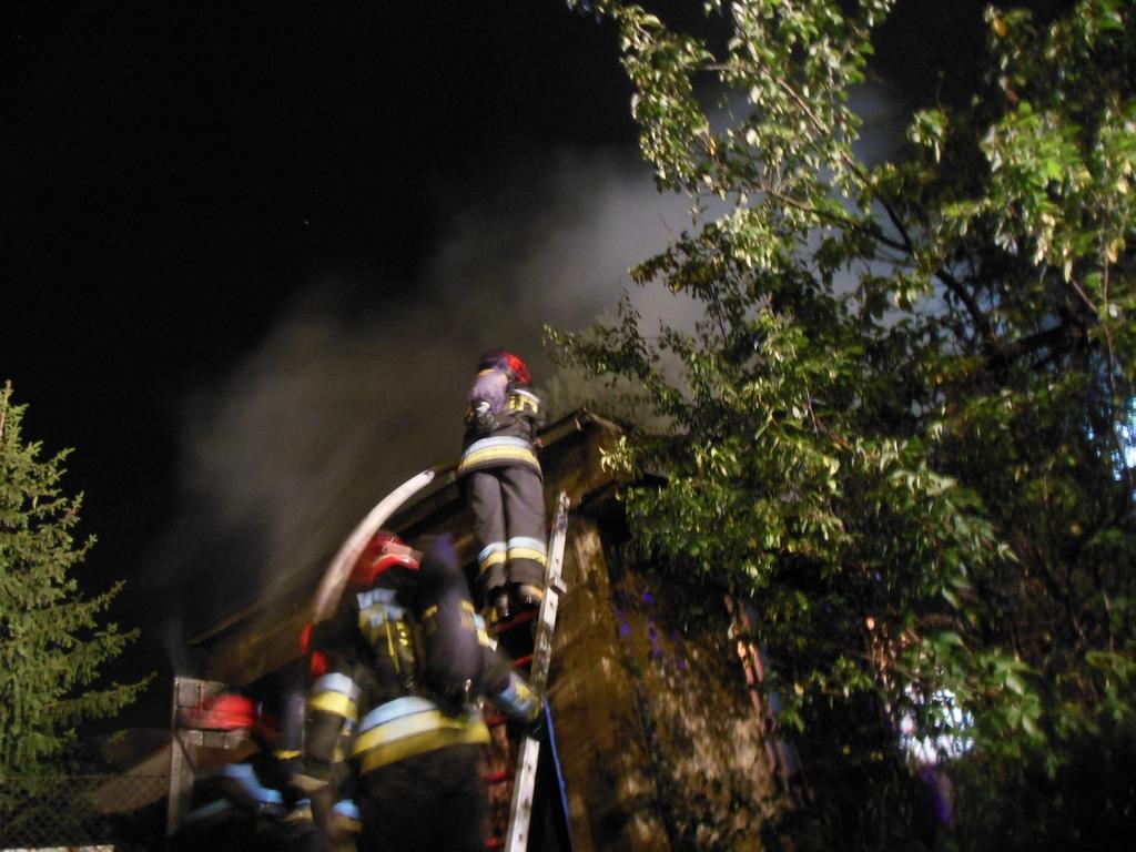 Pożar garażu na Kresowej