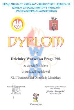 Warszawska Olimpiada Młodzieży dobiegła końca