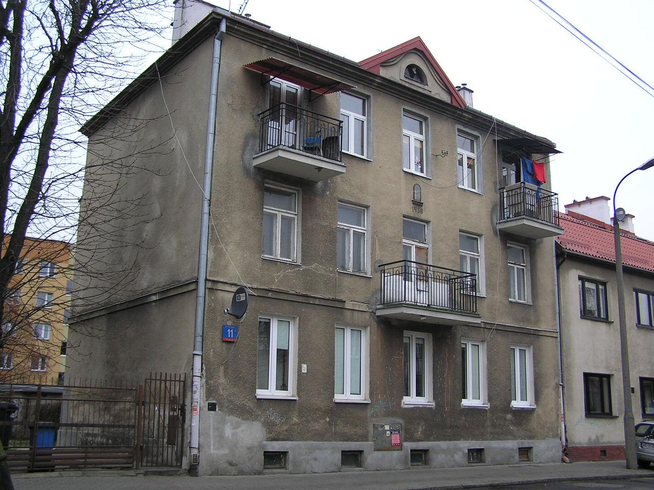 Kamienica przy ulicy Hetmańskej 11 na Grochowie