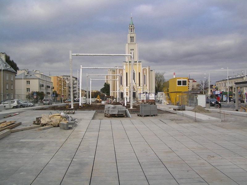 Zakończnie przebudowy Placu Szembeka