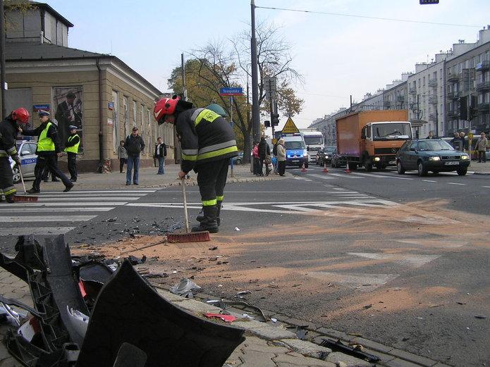 Skrzyżowanie Grochowskiej i Terespolskiej wyjątkowo niebezpieczne
