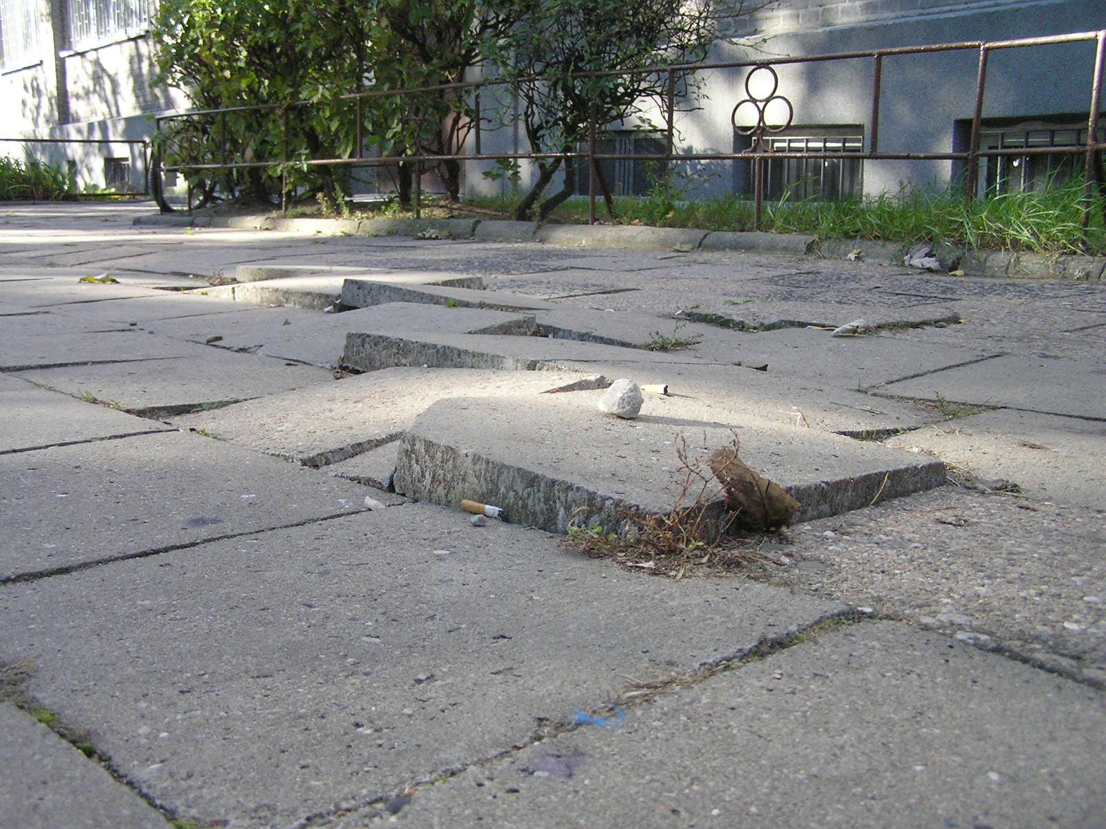 Remonty chodników w 2008 roku