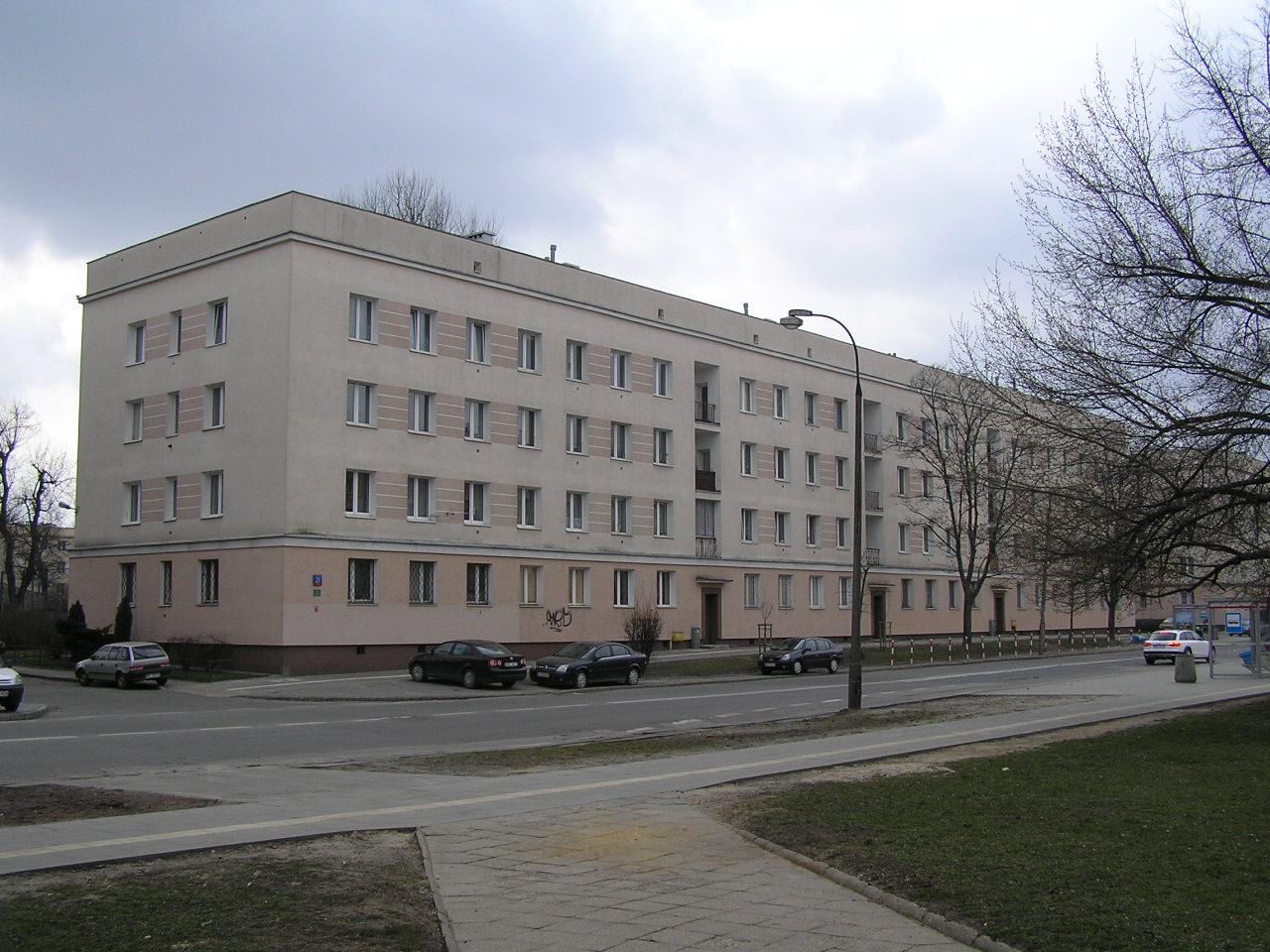 Budynek przy ulicy Dwernickiego 21 na Grochowie