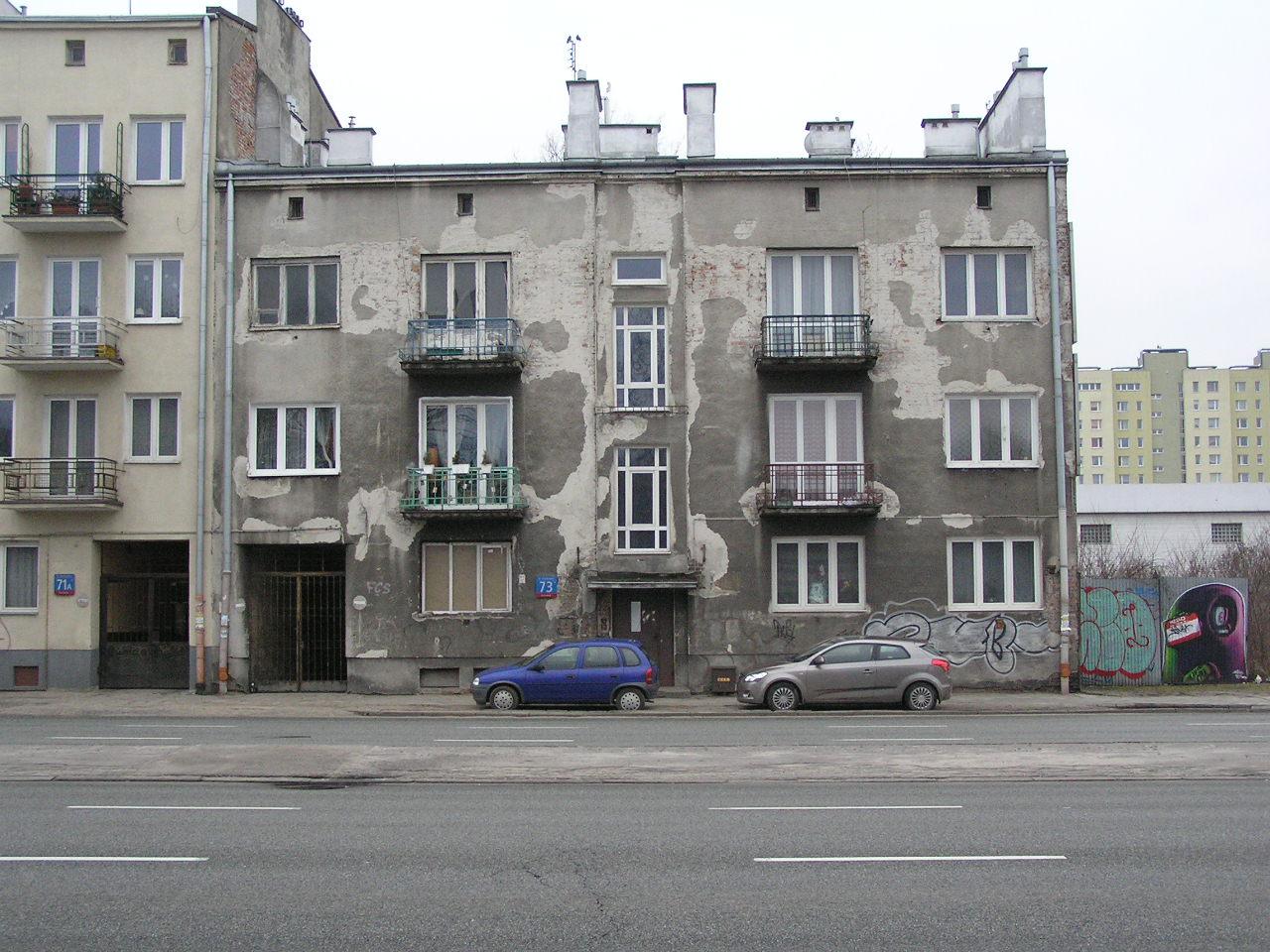 Kamienica przy ulicy Grochowskej 73 na Grochowie