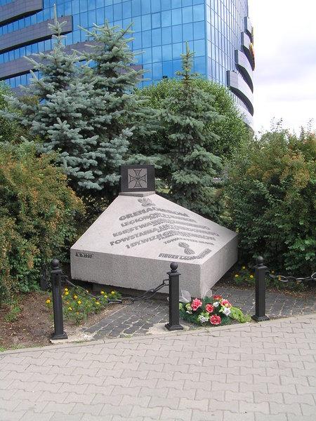 Pomnik poświęcony pamięci Grenadierów