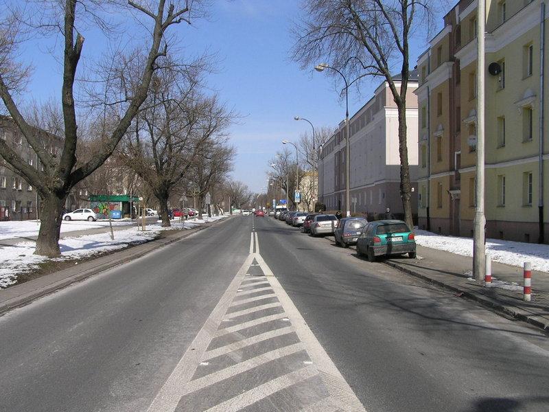 Ulica Podskarbińska