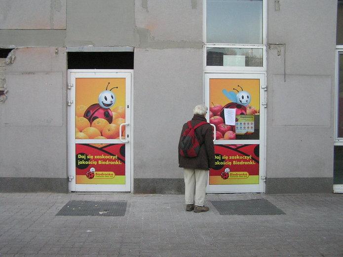 Remont Biedronki przy Kordeckiego
