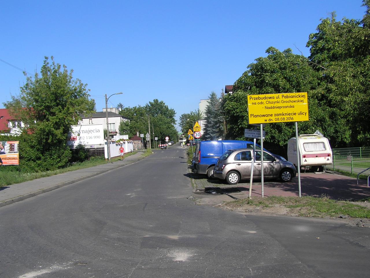 Rusza przebudowa ul. Olszynki Grochowskiej i Pabianickiej