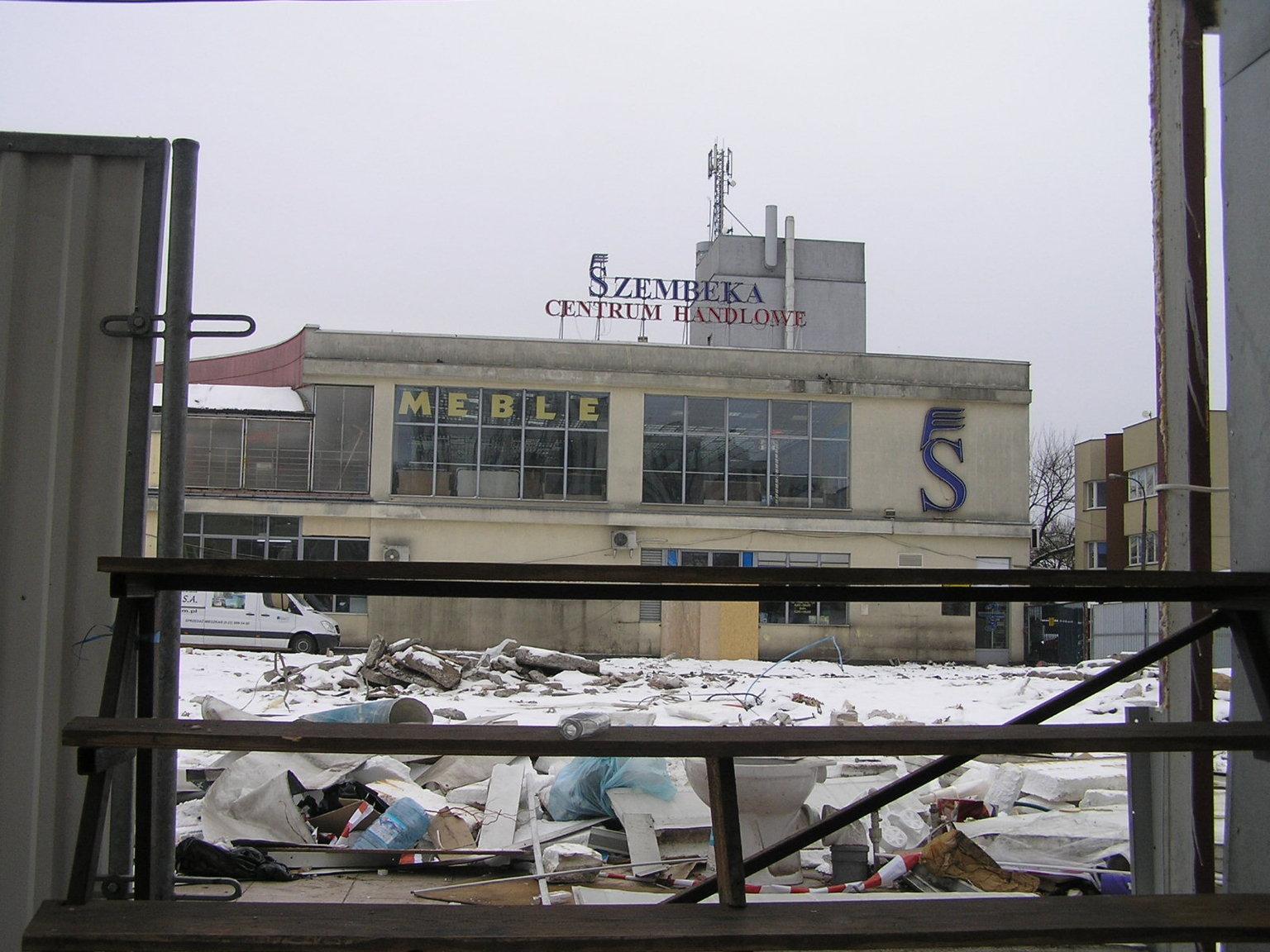 Centrum Handlowe Szembeka: Druga faza przebudowy targowiska