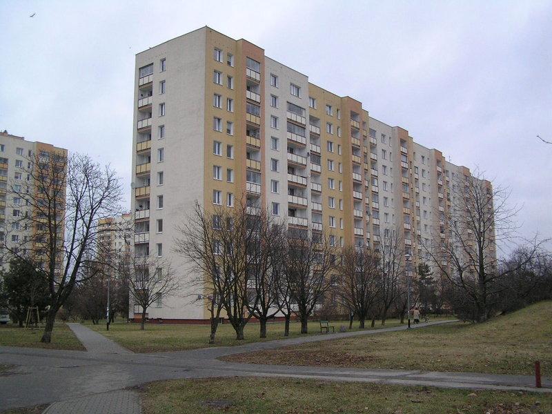 Blok przy ulicy Ostrobramskiej 78 na Grochowie
