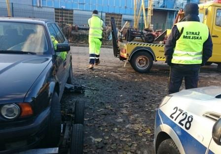 45-latka ujęli strażnicy miejscy, fot. Straż Miejska