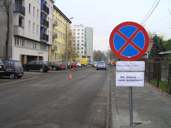 Trwa wymiana nawierzchni ulicy Majdańskiej