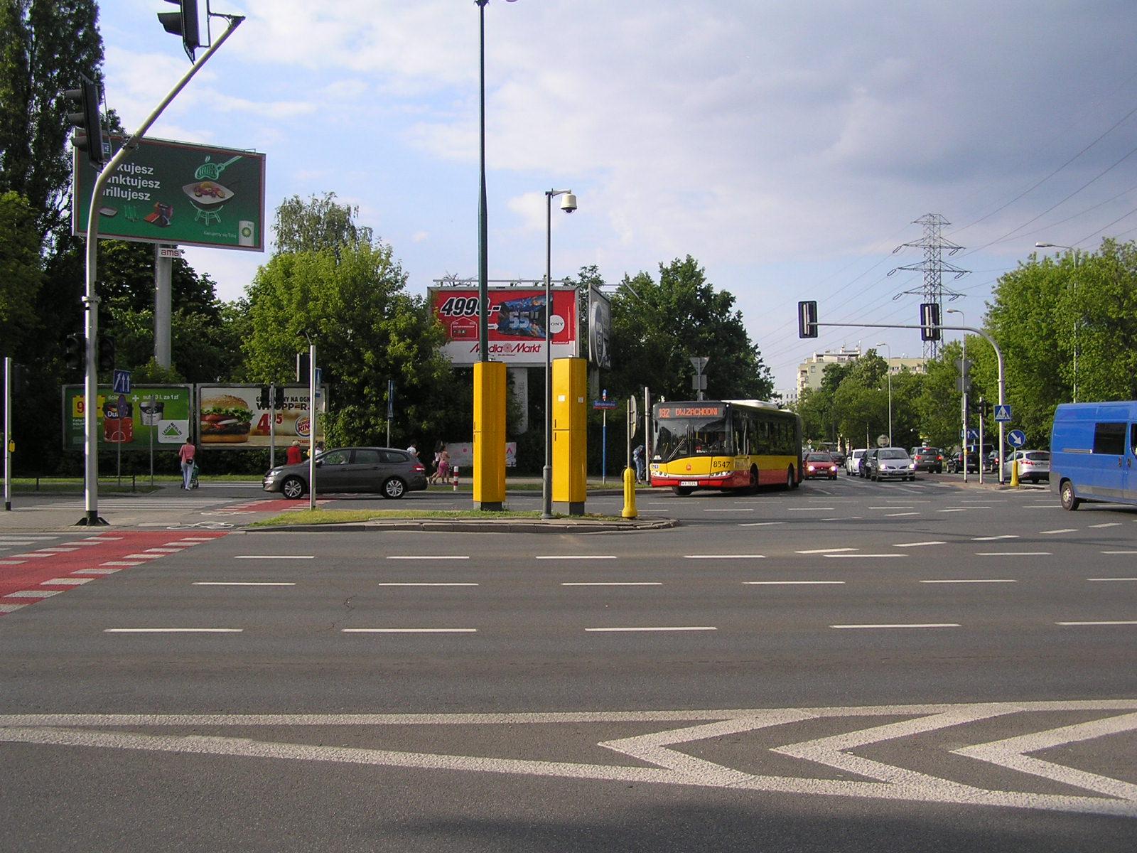 Straż miejska musi usunąć fotoradar z Ostrobramskiej