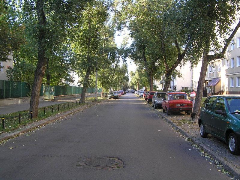 Ulica Siennicka na Grochowie