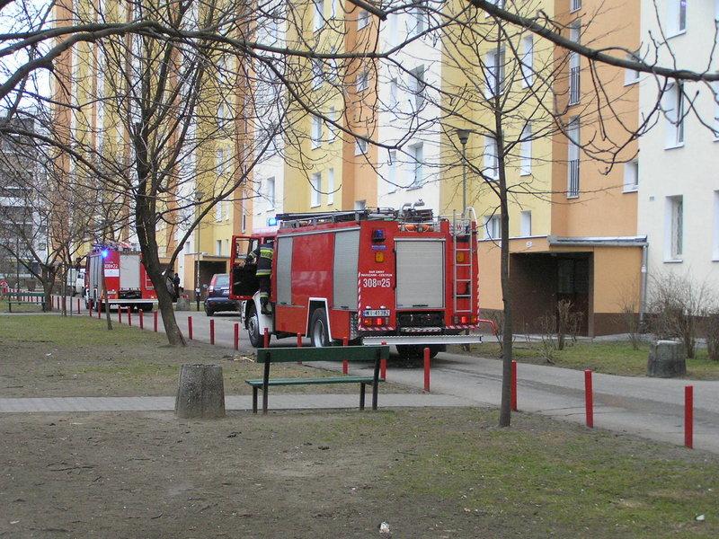 Fałszywy alarm na osiedlu Ostrobramska