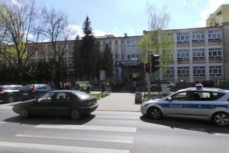 Miejsce zdarzenia, fot. facebook.com/Ulica-Szaserów-789523534407775