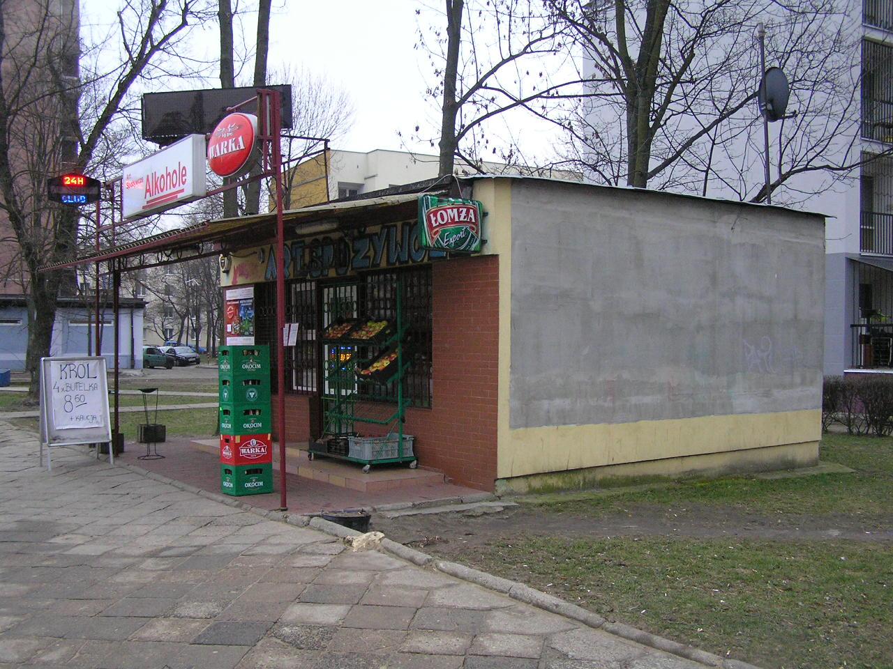 Budynek przy ulicy Dwernickiego 37A na Grochowie