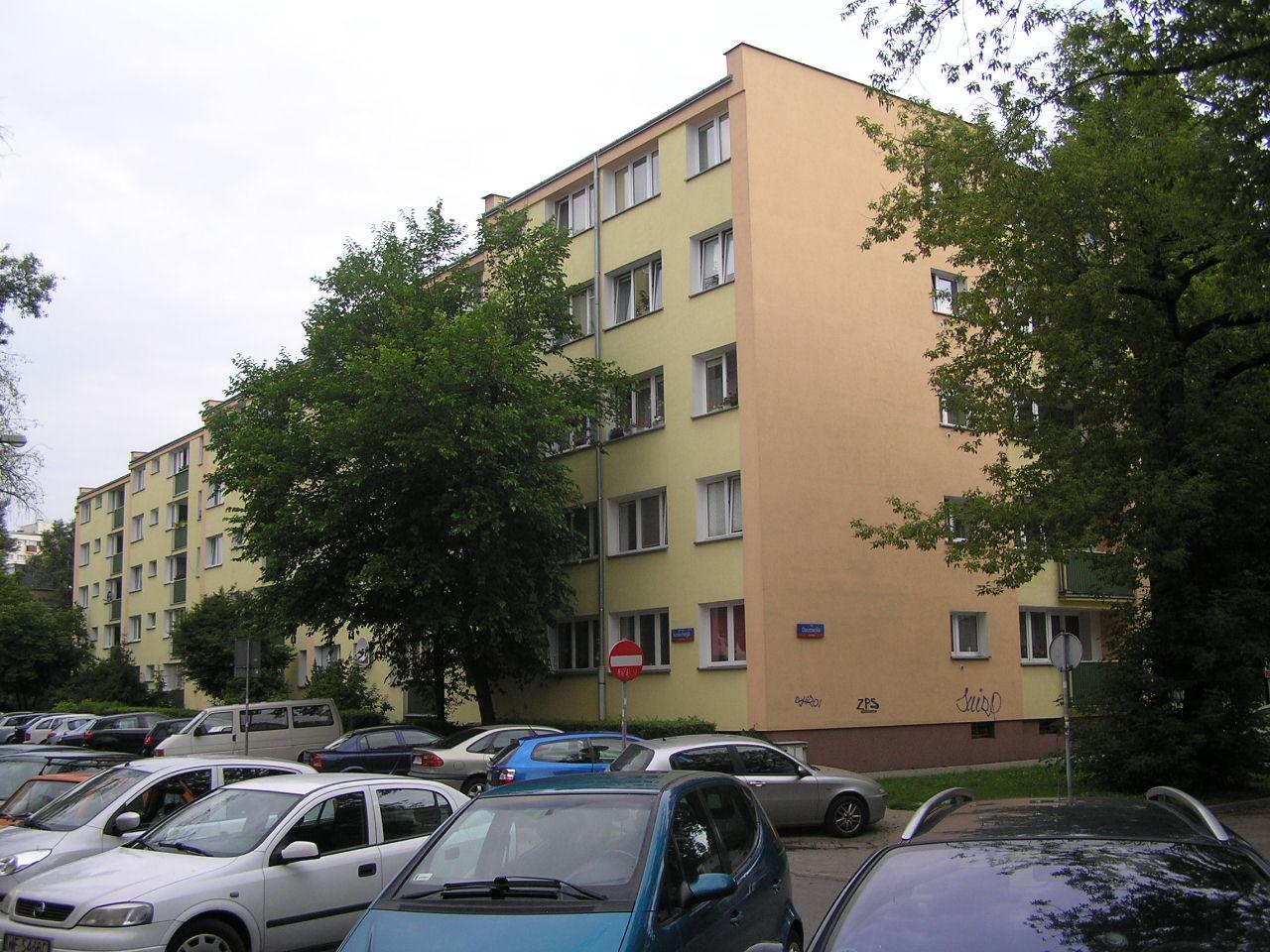 Budynek przy ulicy Kordeckiego 62 na Grochowie