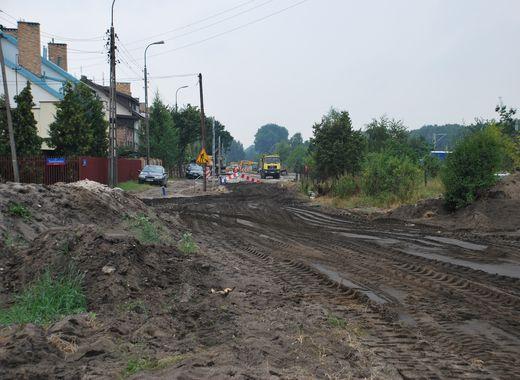 Początek modernizacji ulicy Makowskiej