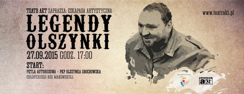 Eskapada artystyczna Legendy Olszynki 2015