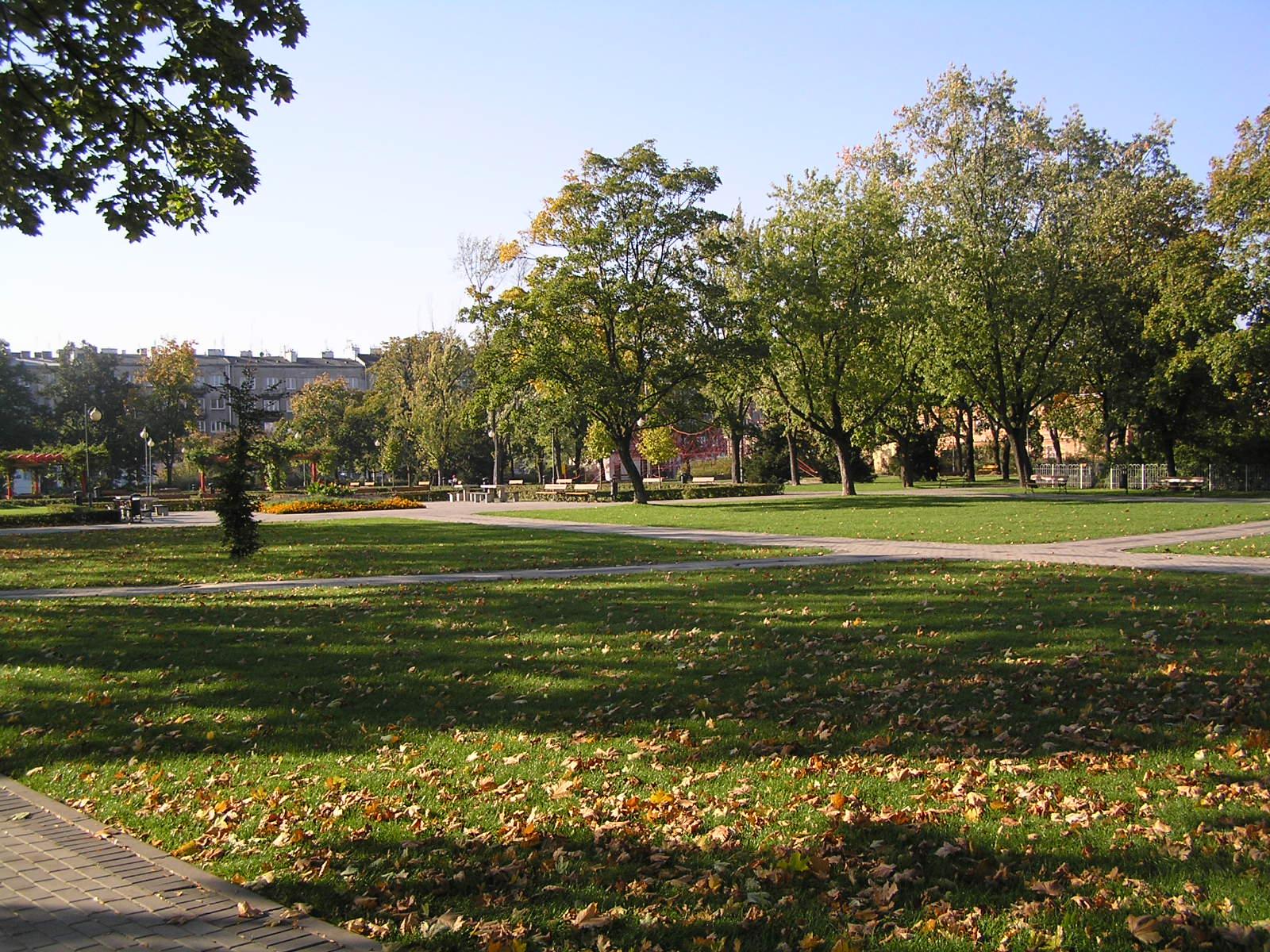 Park im. Obwodu Praga AK wypiękniał po rewitalizacji