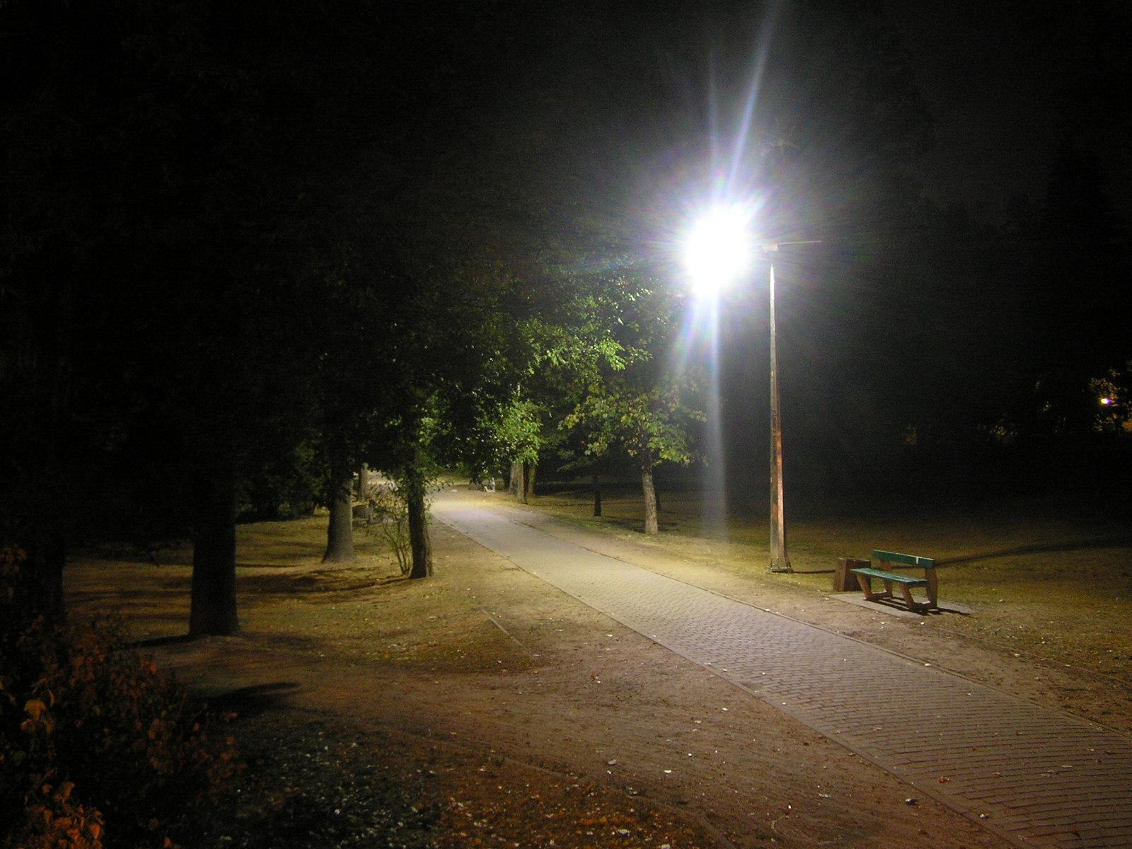 Powiew nowoczesności w parku Leśnika. Hybrydowe latarnie roświetlają mroki ciemności