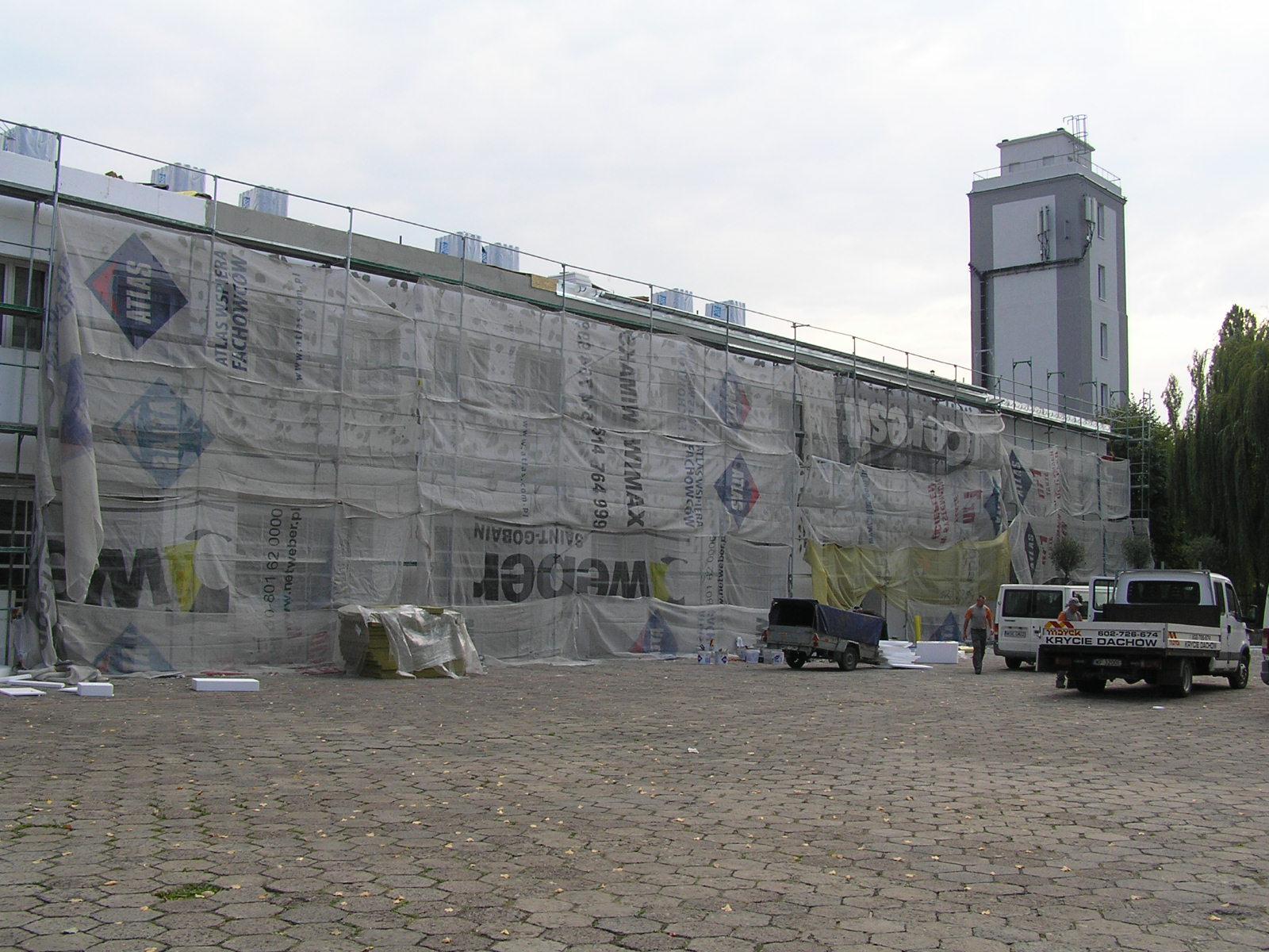 Remont u strażaków. Trwa ocieplanie budynków przy Majdańskiej 38/40