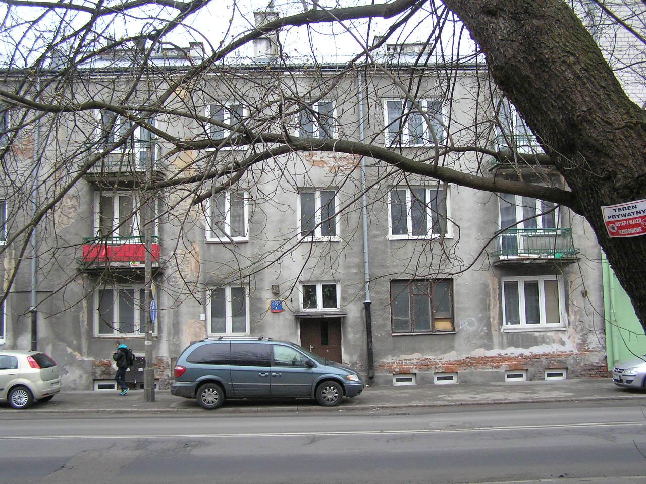 Kamienica przy ulicy Wiatracznej 7 na Grochowie