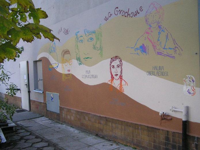 Kobiety Grochowa bohaterkami muralu