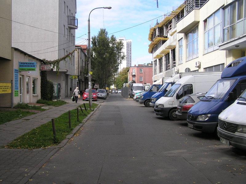 Ulica Gdecka na Grochowie